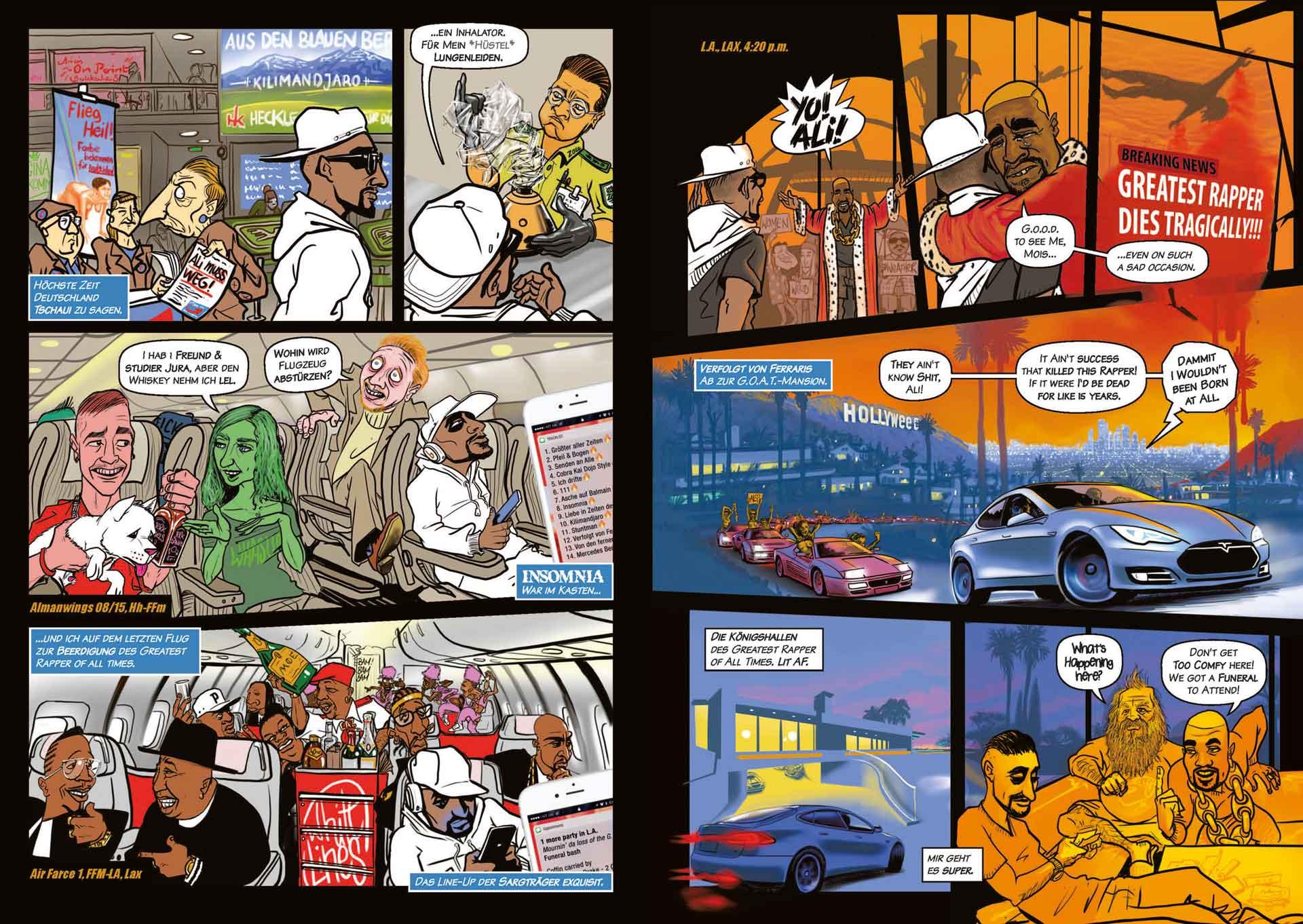 Comic - Comic Illustration - Werner Härtl